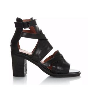 Jeffrey Campbell for Free People black sandals 9